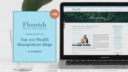 Flourish Ranked in the top 100 Wealth Management Blogs on Feedspot!