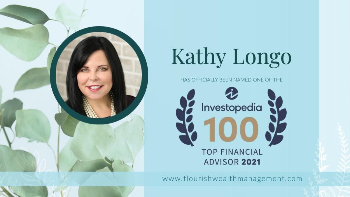 Kathy Longo Named One of Investopedia's Top 100  Financial Advisors