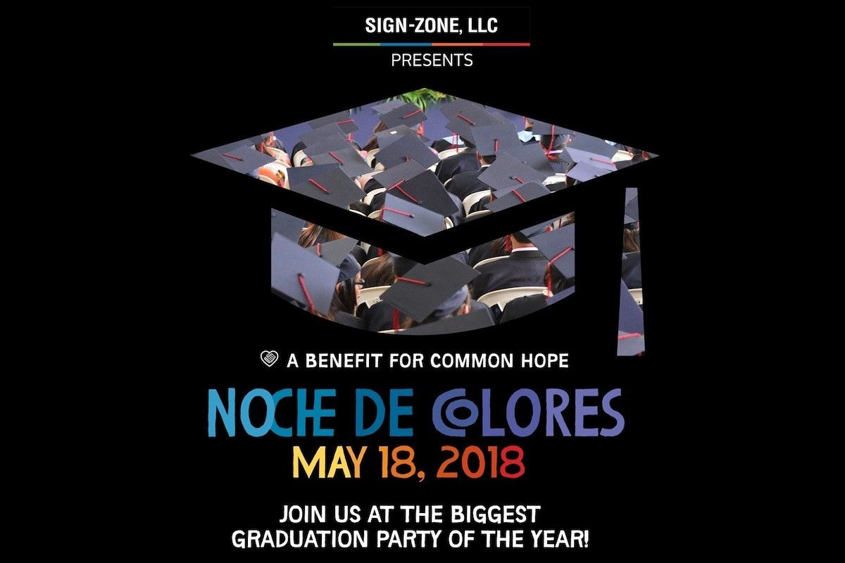 Flourish Wealth Management is a sponsor of Common Hope's Noche De Colores | The Biggest Graduation Party of the Year on May 18!